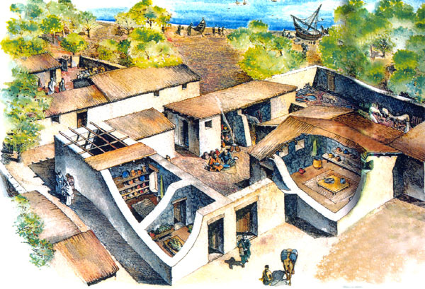 What did the roman houses look like  qaanswerscom